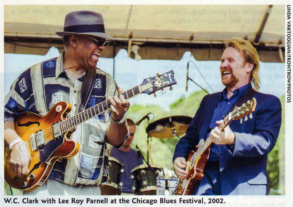 WC and Lee Roy Parnell